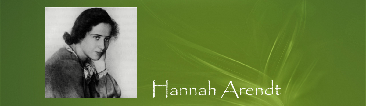 Filosofe Hannah Arendt - Filosofisch café Sapere Aude