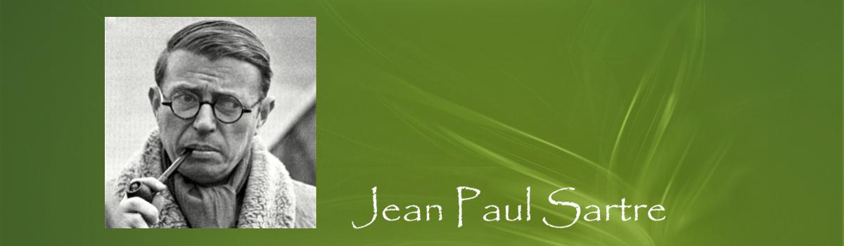 Jean Paul Sartre - Filosofisch café Sapere Aude