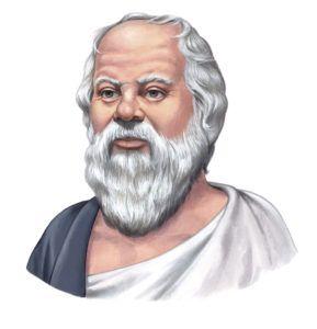 Socrates filosofie - filosofisch cafe sapere aude