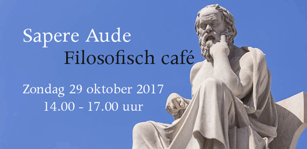 Filosofisch café september